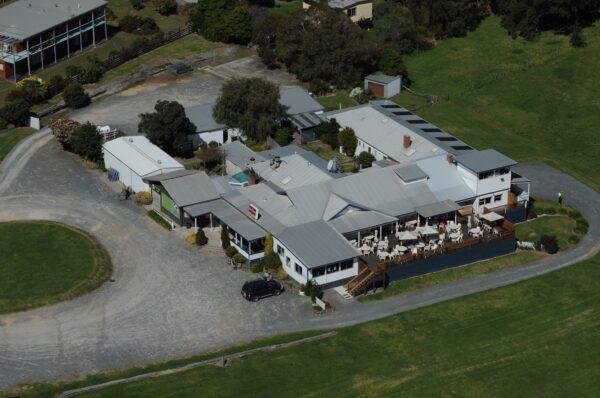Marlo Hotel Aerial