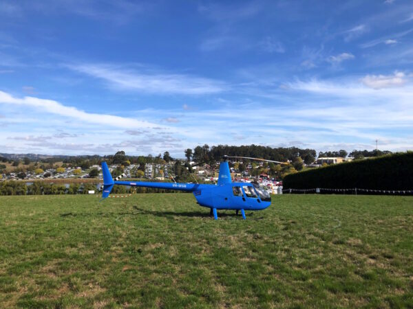 Farm World 2019 Helicopter