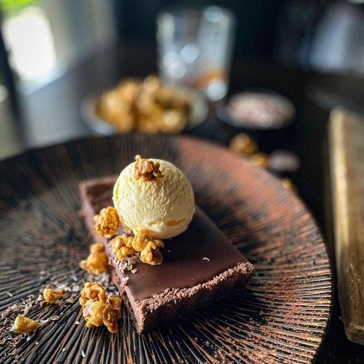 Tinamba Hotel - Chocolate Rum Tart